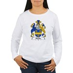 Hooke Family Crest  Women's Long Sleeve T-Shirt