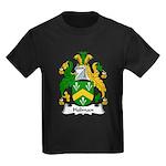 Holman Family Crest Kids Dark T-Shirt