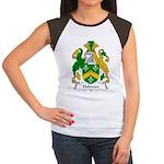 Holman Family Crest Women's Cap Sleeve T-Shirt