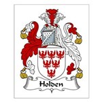 Holden Family Crest Small Poster