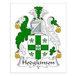 Hodgkinson Family Crest Small Poster