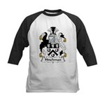 Hinchman Family Crest Kids Baseball Jersey