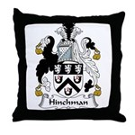 Hinchman Family Crest Throw Pillow