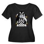Hinchman Family Crest Women's Plus Size Scoop Neck