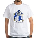 Hickman Family Crest White T-Shirt