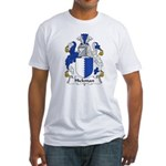 Hickman Family Crest Fitted T-Shirt