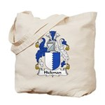 Hickman Family Crest Tote Bag