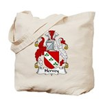 Hervey Family Crest Tote Bag