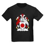 Herst Family Crest Kids Dark T-Shirt