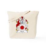 Herst Family Crest Tote Bag