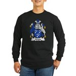 Hedges Family Crest Long Sleeve Dark T-Shirt