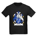 Hedges Family Crest Kids Dark T-Shirt