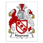 Haywood Family Crest Small Poster