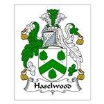 Haselwood Family Crest Small Poster