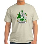 Haselwood Family Crest Light T-Shirt