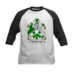 Haselwood Family Crest  Kids Baseball Jersey