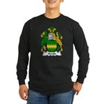 Harold Family Crest Long Sleeve Dark T-Shirt