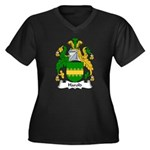 Harold Family Crest Women's Plus Size V-Neck Dark