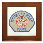 North Las Vegas Police Framed Tile