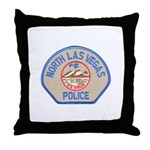 North Las Vegas Police Throw Pillow