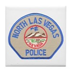 North Las Vegas Police Tile Coaster