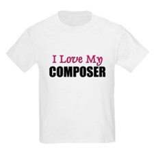 I Love My COMPOSER T-Shirt