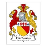 Hardman Family Crest Small Poster