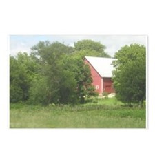 Iowa Barn Postcards (Package of 8)