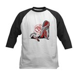 Funny Girls basketball shoes Tee