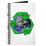 Reduce Reuse Recycle Earth Journal