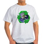 Reduce Reuse Recycle Earth Light T-Shirt