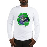 Reduce Reuse Recycle Earth Long Sleeve T-Shirt
