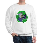 Reduce Reuse Recycle Earth Sweatshirt
