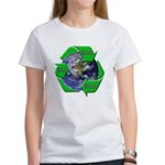 Reduce Reuse Recycle Earth Women's T-Shirt