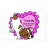 I Luv My Jack Russell Terrier Postcards (Package o