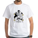Gresham Family Crest White T-Shirt