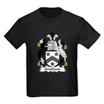 Gresham Family Crest Kids Dark T-Shirt