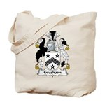 Gresham Family Crest Tote Bag