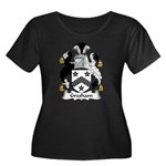 Gresham Family Crest Women's Plus Size Scoop Neck