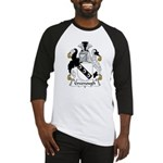 Greenough Family Crest Baseball Jersey