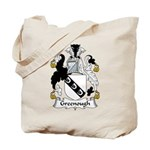 Greenough Family Crest Tote Bag
