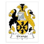 Grange Family Crest Small Poster