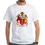 Grainger Family Crest White T-Shirt