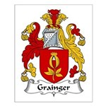 Grainger Family Crest Small Poster