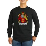 Grainger Family Crest Long Sleeve Dark T-Shirt