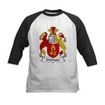 Grainger Family Crest Kids Baseball Jersey