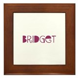 Unique Bridget Framed Tile