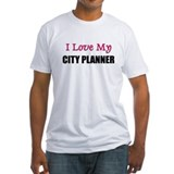 I Love My CITY PLANNER Shirt
