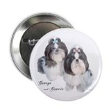 "George & Gracie 2.25"" Button (100 pack)"