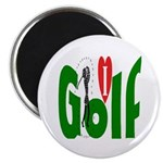 Ladies Golf Magnet